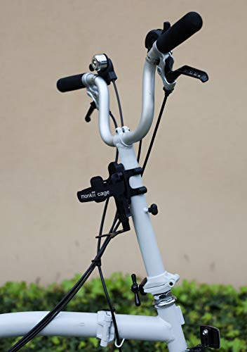 Monkii V-Cage Vélo//Vélo thermos//Nalgene//SIGG Bouteille Cage-Brompton