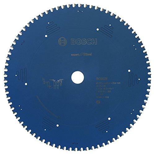 Bosch Professional Kreissägeblatt (für Stahl, AußenØ: 305mm, Bohrung: 25,4mm, Zubehör für Metall-, Kapp-, Gehrungssäge)