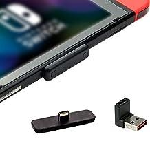 GULIkit routte luft Bluetooth-adapter för Nintendo Switch/Switch Lite PS4 PC, trådlös Bluetooth-ljudsändare med aptX låg latens, stödjer AirPods Bluetooth hörlurar hörlurar högtalare