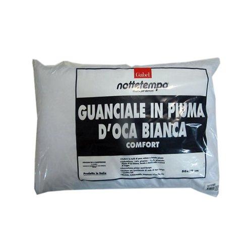 Guanciale Cuscino Gabel in Piuma doca bianca Comfort B578