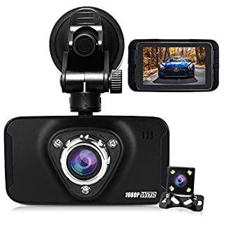 hqbking-Car-DVR-Vehicle-Dash-Kamera-Full-HD-1080P-Auto-Armaturenbrett-Video-Recorder-mit-170-Grad-Weitwinkel-4-x-Zoom-G-Sensor-Bewegungserkennung-Nachtsicht-Loop-Recording-Parken-Monitor