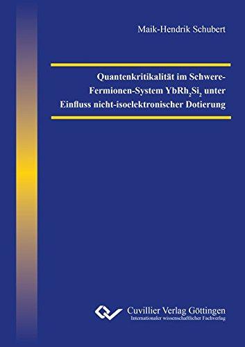 Quantenkritikalität im Schwere-Fermionen-System YbRh2Si2 unter Einfluss nicht-isoelektronischer Dotierung