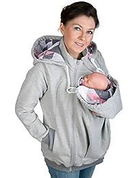Hoodies Veste Porte Bébé Kangourou Vêtements D extérieur Hiver Maternité  Sweatshirts ... 63ad87b48ec