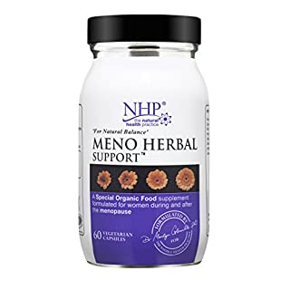 NATURAL HEALTH PRACTICE Meno Herbal Support (v) 60caps (PACK OF 1)