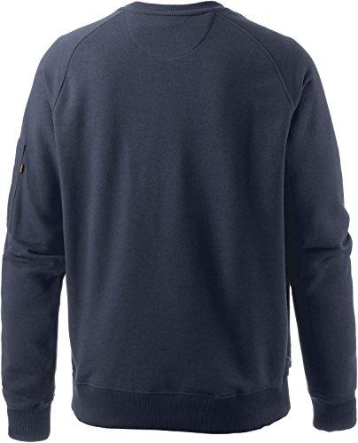 Alpha Industries Herren Sweatshirt Navy