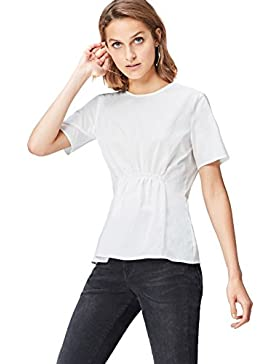 FIND Blusa con fruncido Para Mujer