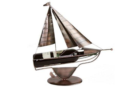 Flaschenhalter Segler Kupferfarbend Schiff Boot