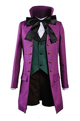 (jeylu Black Butler 2II Alois Trancy Cosplay Kostüm Version B EU Größe Gr. Schneider-Gemacht, rose)