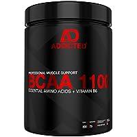 Preisvergleich für BCAA 1100 von ADDICTED® 300 Kapseln • Essentielle Aminosäuren & Vitamin B6 für Muskelaufbau und Muskelerhalt •...
