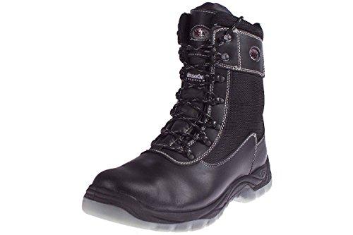 BOA® Sicherheitsstiefel Arbeitsschuhe S3 Stahlkappe Größe: 47 (Ass Schuhe)