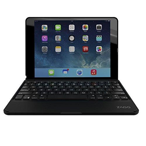 Zagg ID6ZFN Schutzhülle mit Tastatur für Apple iPad Air 2 schwarz - 2