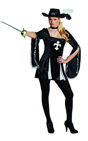 Lady Musketier Musketierkostüm Kämpferin Kostüm für - Mortal Kombat Kostüm Damen