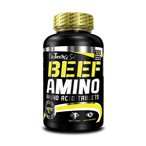Biotech USA Beef Amino Aminoácido - 244.8 gr (120 tabletas)