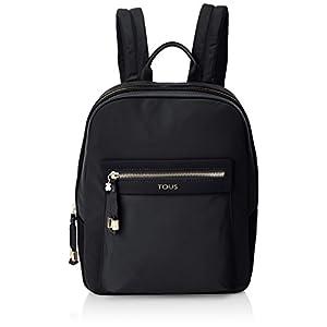 41Yg4pFiLZL. SS300  - TOUS 695810087, Bolso mochila para Mujer, Negro (Negro), 26x33x9.5 cm (W x H x L)