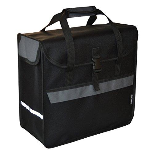 C-BAGS BOX BOX Gepäckträger Fahrradtasche Tasche verschiedene Muster Graphite
