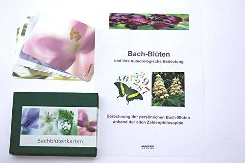 Bach-Blüten und ihre numerologische Bedeutung - Bachblüten Buch und Kartenset