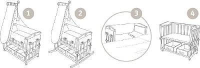 Roba - 8952W SBM1 - Cuna adosada