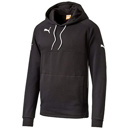 Puma Herren Kapuzenpullover, schwarz (Black-white), XL, 653979 03