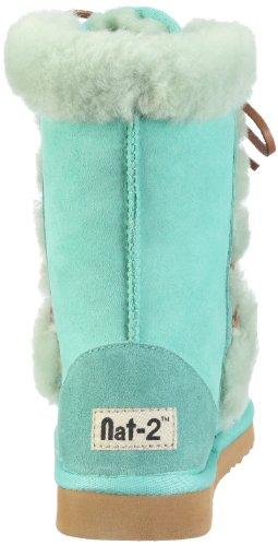 Nat-2 SHEEP, Bottes femme Turquoise-TR-G2-1