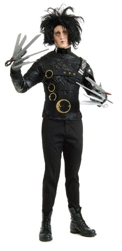 Official Adult's Edward Scissorhands 1990 Movie Halloween Costume. Standard size
