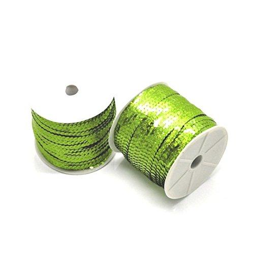 creafirm-3m-de-galon-ruban-sequins-verts-6mm