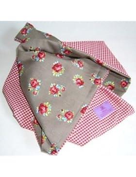 Bambini della sciarpa con rose & motivo scozzese in 100% cotone AUS der Prinz & DET Chen collezione