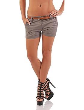 malito Hot Pant Diseño clásico pantalón cortos 5397 Mujer