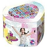 Soy Luna Soy Set joyero con 22 Anillos, Unica (Kids Euroswan WDSL119)