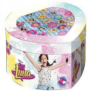 Soy Luna - Soy Luna - Set joyero con 22 anillos (Kids Euroswan KD-WDSL119), Unica (Kids Euroswan WDSL119)