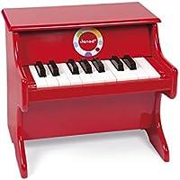 Janod Confetti Piano (Red)