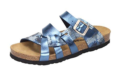 Dr. Brinkmann Damen-Pantolette blau 701061-5