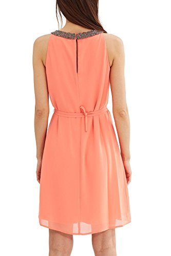 ESPRIT Collection Damen Kleid Orange Coral Orange 870 ...