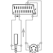 Cable adaptador de euroconector a 4pol. Conector (S-VHS) + 3,5 mm estéreo Jack, 2,0 M
