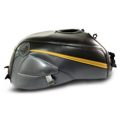 Tankschutzhaube Bagster Kawasaki ZRX 1200 R 2002 schwarz/anthrazit/gold
