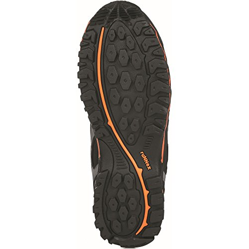 ruNNex, Scarpe antinfortunistiche uomo Nero-grigio-arancio black/orange/grey