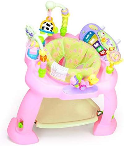 JUN GUANG Chaise de Saut Multifonction Musique Saut Happy Park Fitness Rack Bouncer Swing Chaise Baby Gym | Les Produits Sont Vendus Sans Prescription Mode Et Forfaits Attractifs