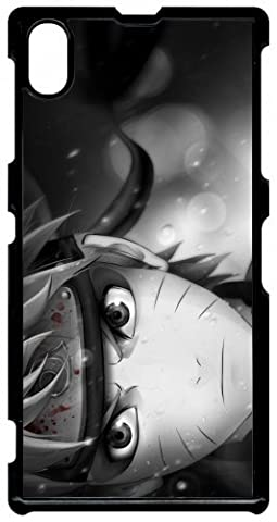 Coque sony xperia z1 naruto black and white