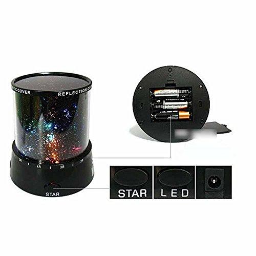 Projizieren Stern Himmel Nacht Kosmos Projektor Fee Licht LED-Lampe Dekoration - 2