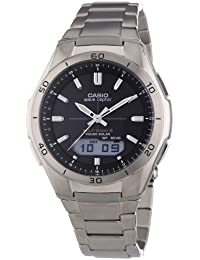 Casio Wave Ceptor Herrenuhr Analog/Digital Quarz mit Titanarmband – WVA-M640TD-1AER