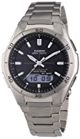 Casio Wave Ceptor �?? Men's Analogue/Digital Watch with Titanium Bracelet �?? WVA-M640TD-1AER