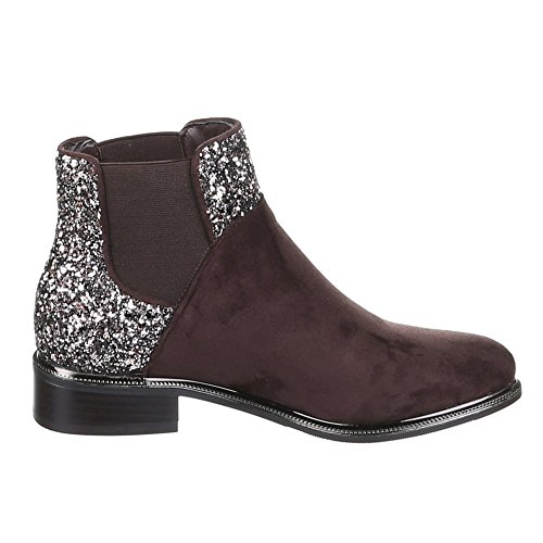 Chaussures, bottines h386 Marron - Marron