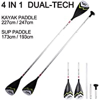 Lhlbgdz Sup Board Dual Tech Paddle Stand Up Paddle Board Kayak Barco Canoa Dobles Extremos Paddle