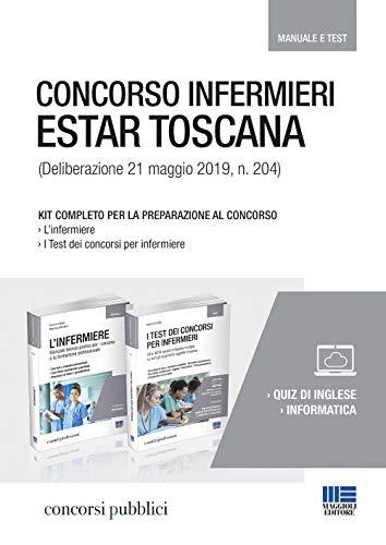 Concorso infermieri ESTAR Toscana 2019. Kit completo per la preparazione al concorso