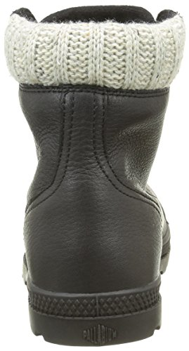 Palladium Pampa Knit Lp F, Baskets Hautes Femme Noir (315 Black)