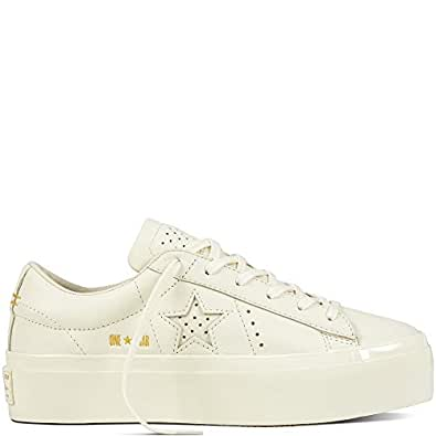 275ca29946a Converse Women s s 559899 One Star Platform Trainers  Amazon.co.uk ...