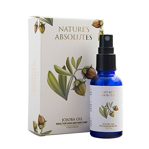 Nature's Absolutes Cold Pressed Jojoba Carrier Oil, 30ml