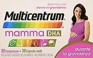 Multicentrum Mamma Dha 30+ - 30 Compresse Capsule Molli, Integratore alimentare multivitaminico multiminerale