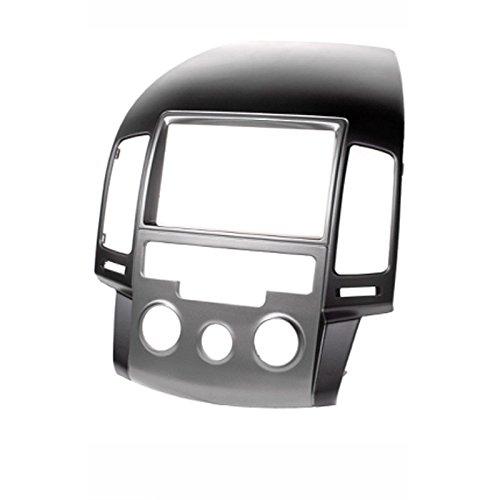 carav 11-141 Doppel DIN Autoradio Radioblende DVD Dash Installation Kit für Hyundai I-30 (FD) 2008-2011 Manuelle Klimaanlage Faszie mit 173 * 98 mm und 178 * 102 mm Aftermarket Dash Kits
