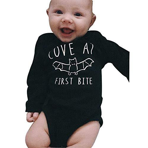 Helden Deiner Kindheit Kostüm - Halloween Kostüme Baby,Strampler Schwarz Spielanzug Batwing