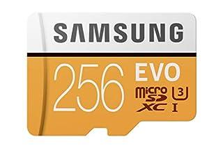 Samsung MicroSDXC EVO - Tarjeta de Memoria (MicroSDXC EVO, 256 GB, MicroSDXC, Clase 10, 100 MB/s, UHS-I, 10000 ciclos por Sector lógico), Naranja/Blanco (B06Y4C1MZ4)   Amazon price tracker / tracking, Amazon price history charts, Amazon price watches, Amazon price drop alerts